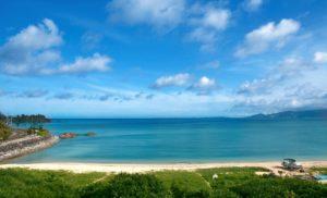 沖縄にあるリゾートホテルUMITO PLAGE The Atta Okinawaからの絶景ビュー